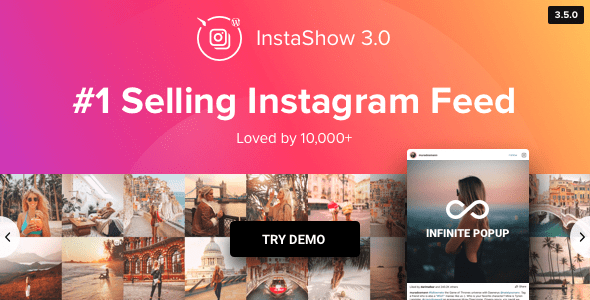 10 Plugins Incriveis Para Exibir Fotos do Instagram no WordPress - Instagram Feed InstaShow