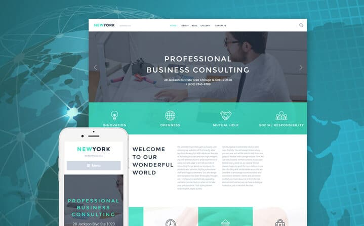 Accounting Tema WordPress Negocio