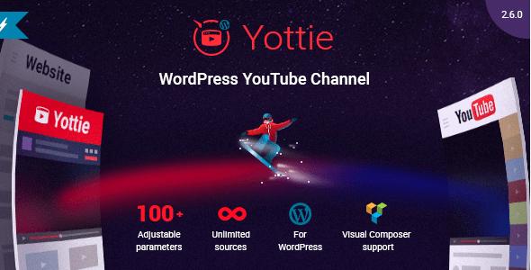 Como Ter Galeria do YouTube no WordPress com Yottie Plugin - Yottie WordPress Gallery for YouTube