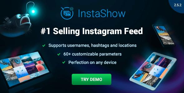 Galeria do Instagram no WordPress Com Instagram Feed - Instagram Feed WordPress Instagram Gallery