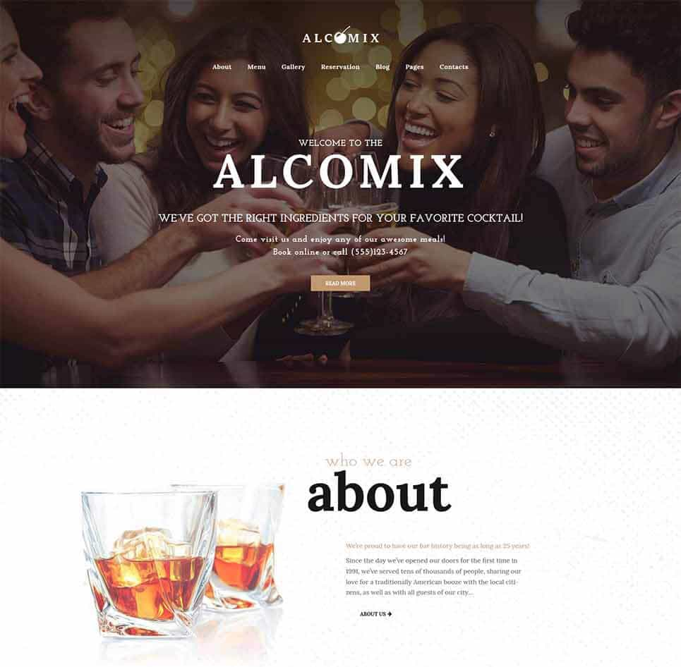 Alcomix Tema WordPress