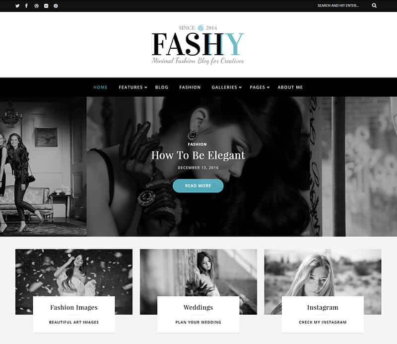 Fashy Tema WordPress