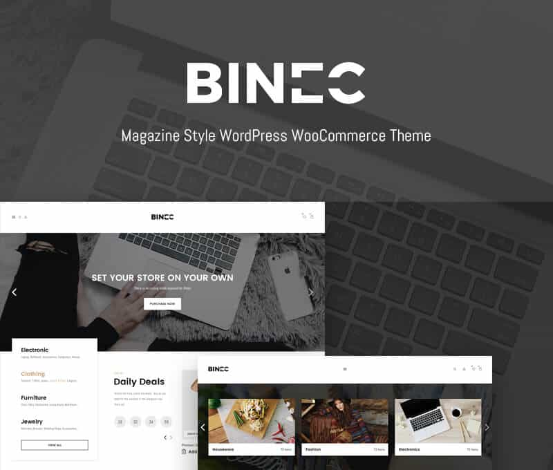 Binec Tema WordPress