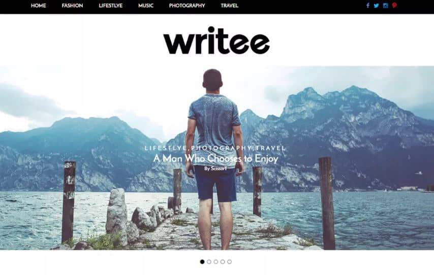 writee Tema WordPress