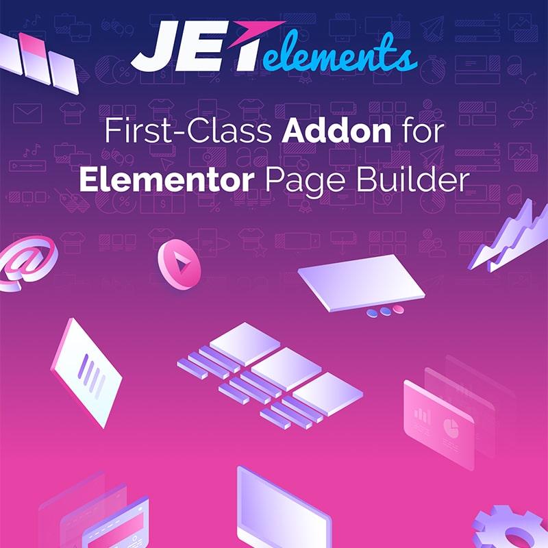 JetElements - Feermanetas Adicionais para o Construtor de Paginas Elementor