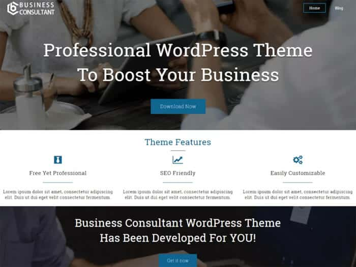 business-consultant-free-wordpress-theme