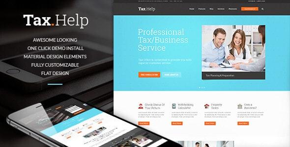 tax-help-finance-accounting-wordpress-theme