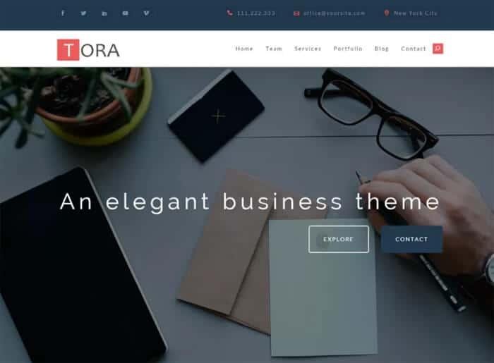 tora-free-wordpress-theme