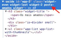 Como Adicionar Classe CSS Aos Widgets WordPress - Codigo Fonte do Widget Com Classe CSS Personalizada