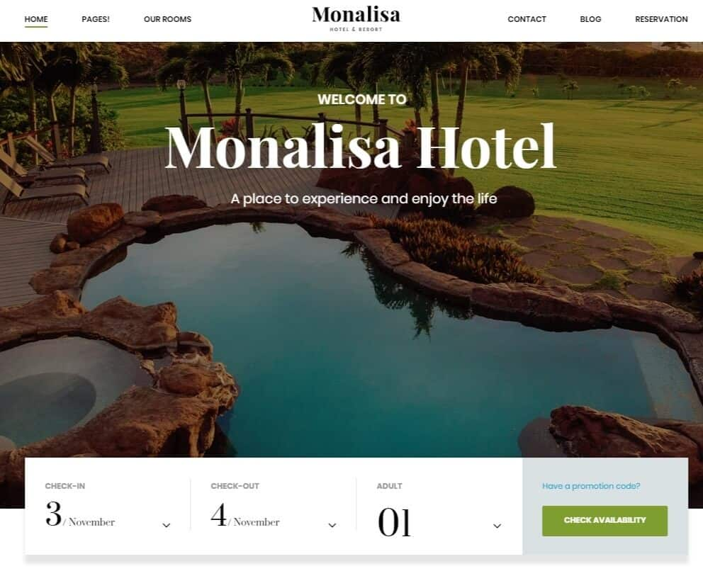 Monalisa – Just another WordPress site