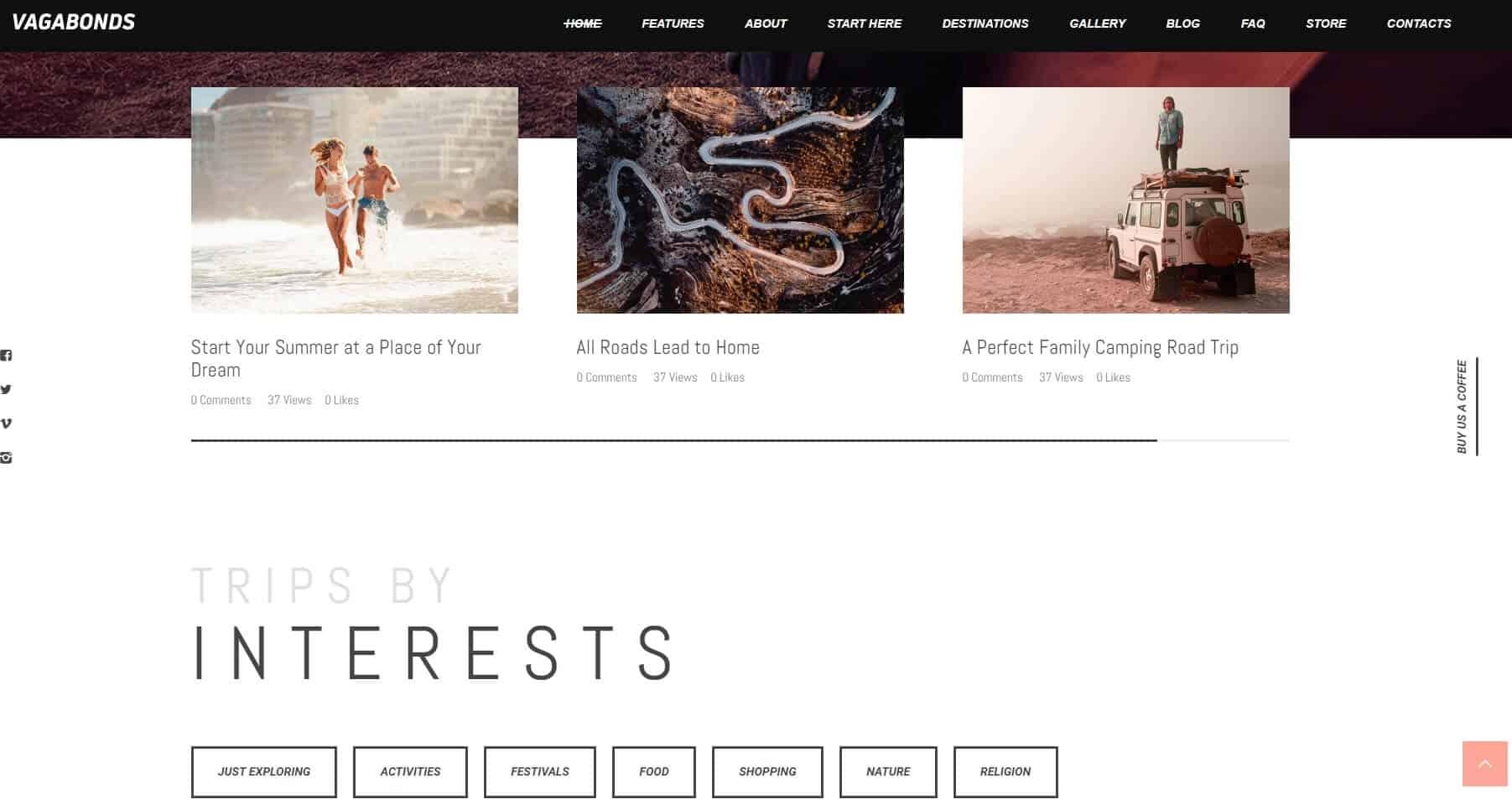 Vagabonds – Travel Storytelling – Just another WordPress site