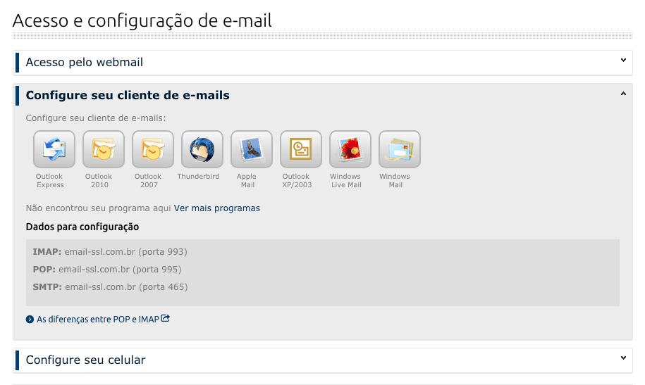 Como Configurar Servidor de E-mail na Locaweb - Acesso e Configuracao de E-mail