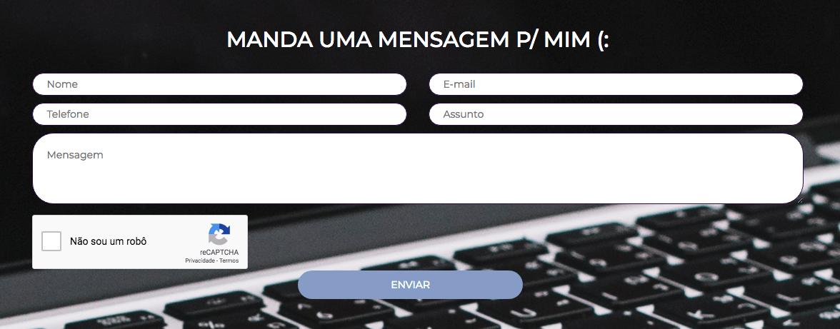 Como Adicionar reCAPTCHA Ao Formulario Sem Plugin - Formulario com reCAPTCHA