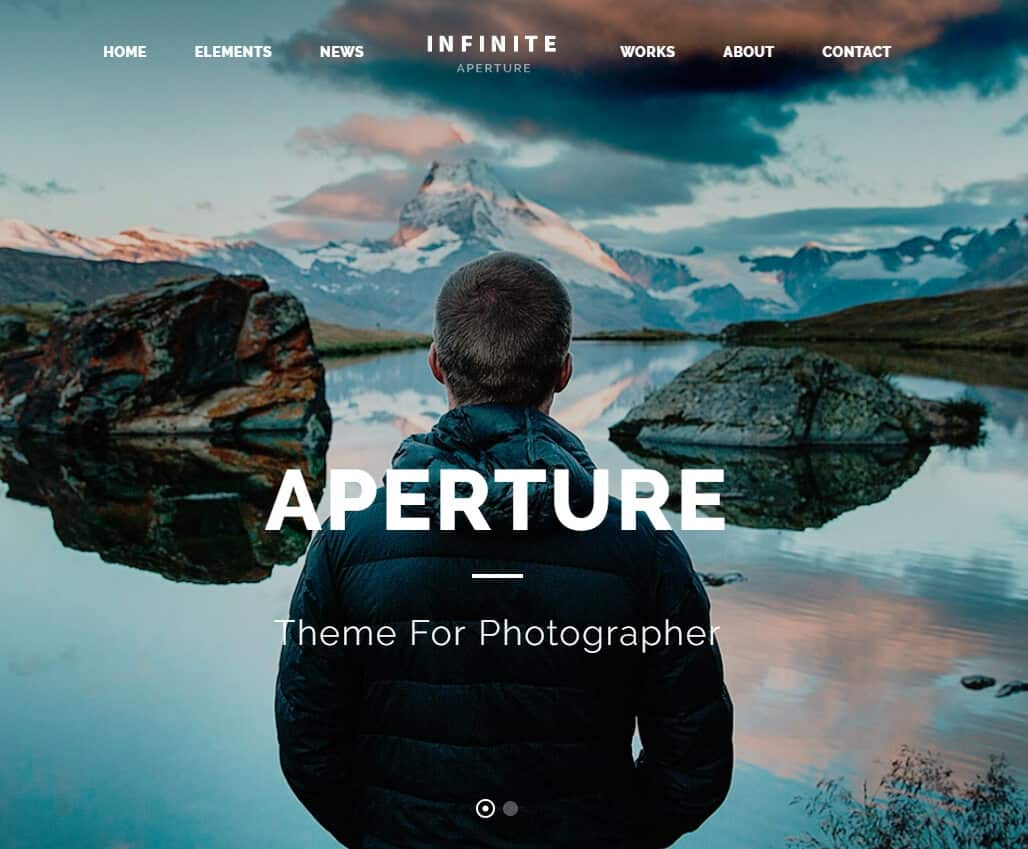 Infinite –Tema WordPress