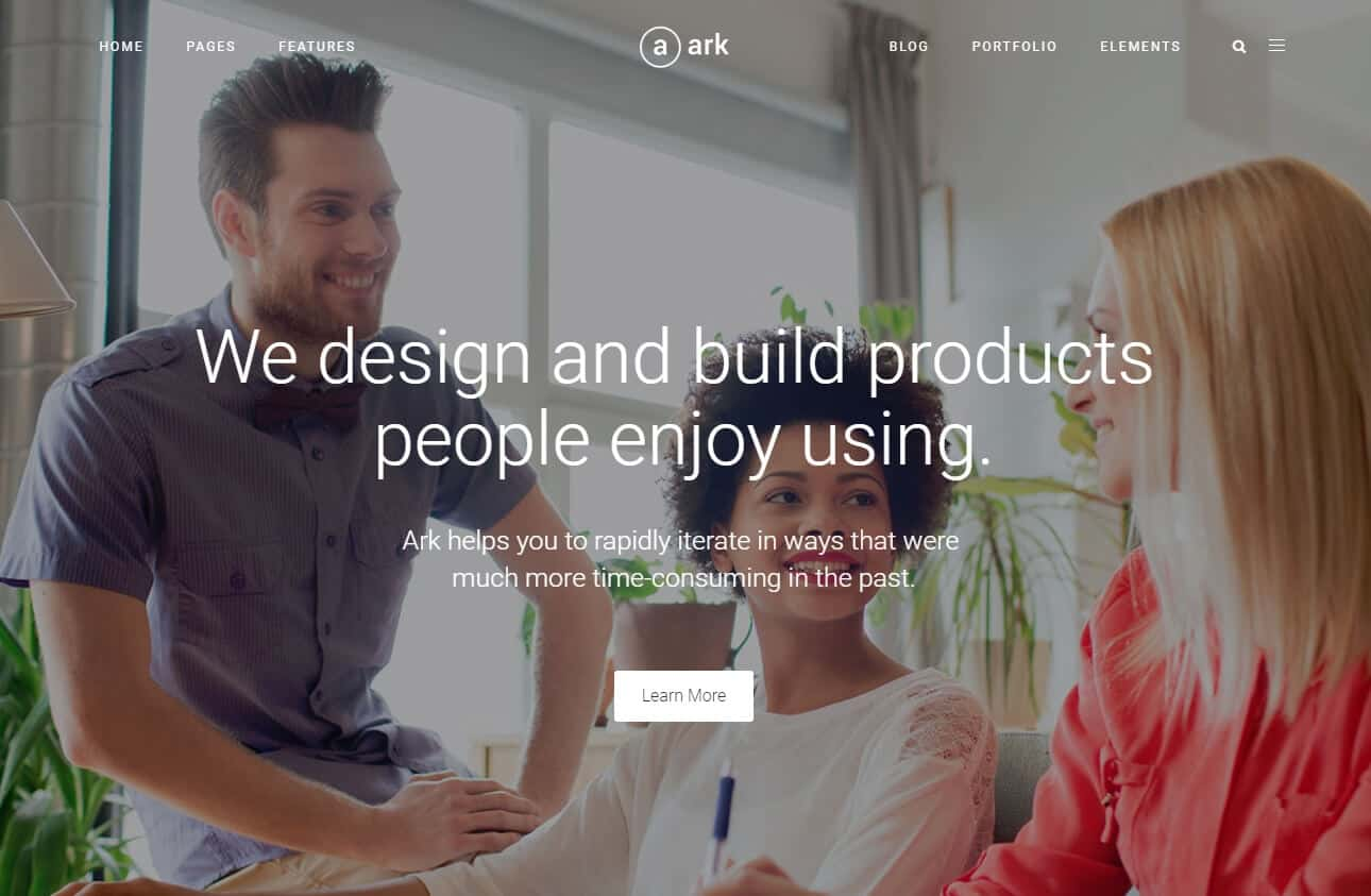 The Ark - WordPress Theme Demo – Just another WordPress site