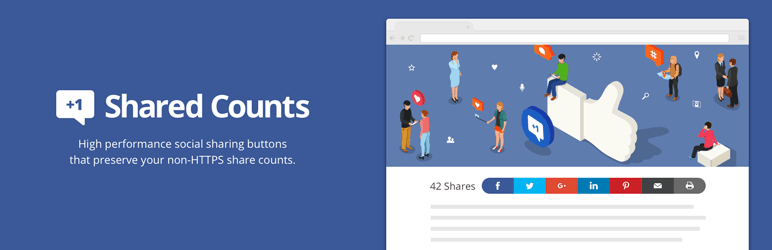 Shared Counts WordPress Plugin