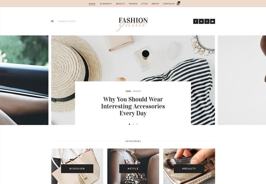 Cindy J Tema WordPress Pessoal Blog e Portfolio Criativo