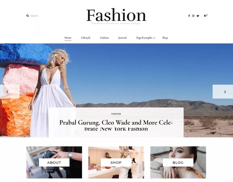 Blossom-Fashion Tema WordPress de Blog