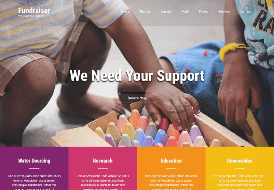 Fundraiser Lite WordPress Theme