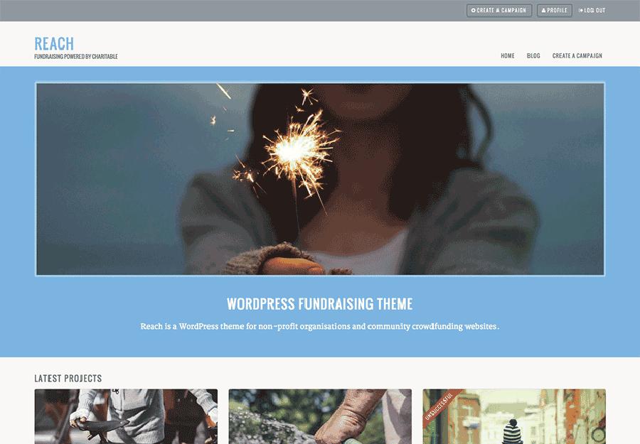 Reach WordPress Theme