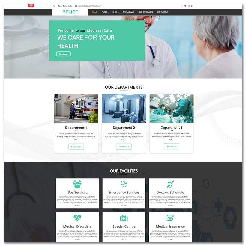 Relief - Hospital Médico