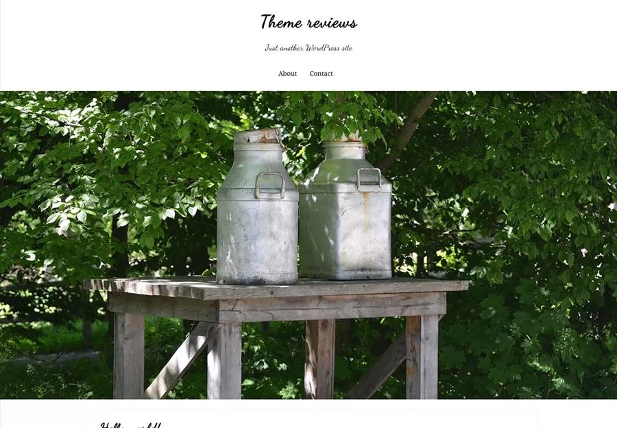 Tema WordPress para Fazendas
