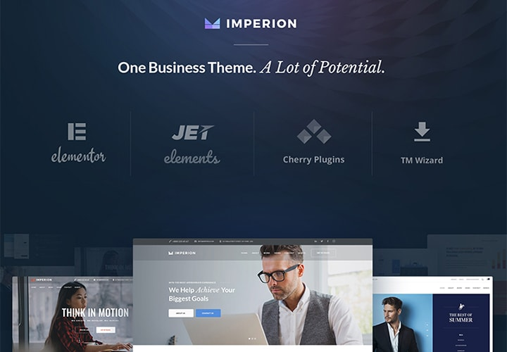 Imperion - Tema WordPress Corporativo Multipropósito