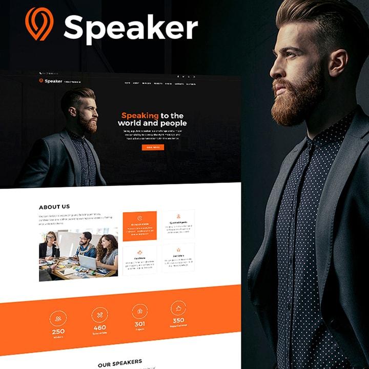 Speaker - Tema WordPress para Conselheiro Pessoal