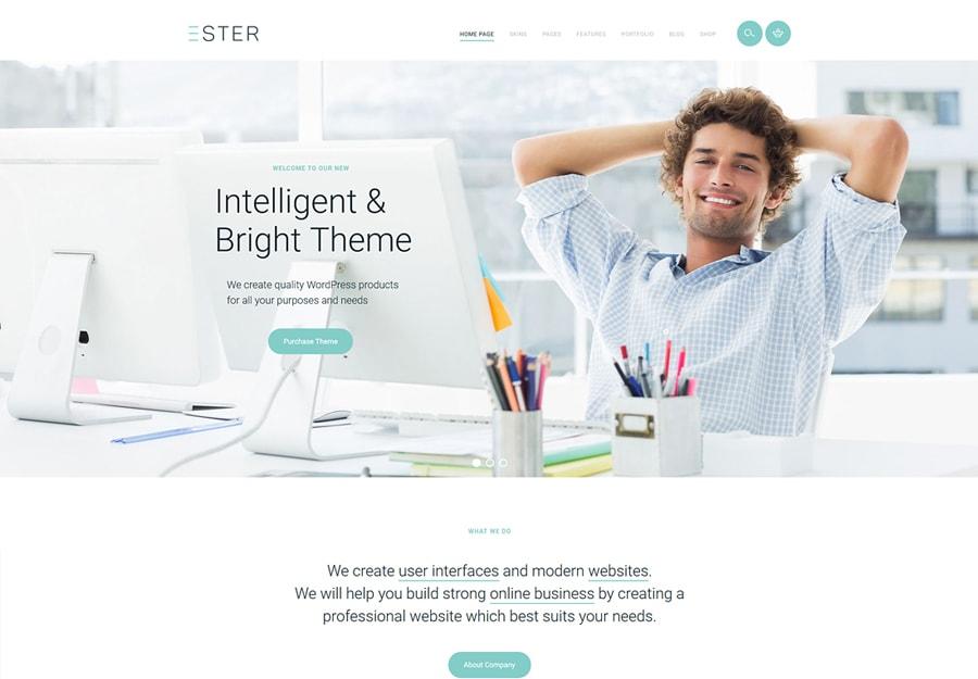 Ester - Tema WordPress Estiloso