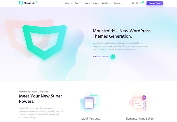Monstroid2 - Tema WordPress Multipropósito