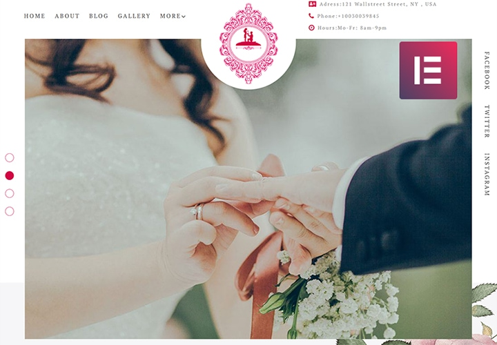 ForeverLove - Tema WordPress One Page para Casamentos