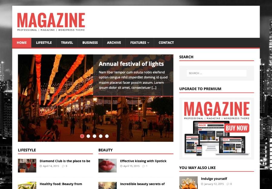 MH Magazine lite - Tema WordPress para Blogs, Revistas, Notícias e Portfólio