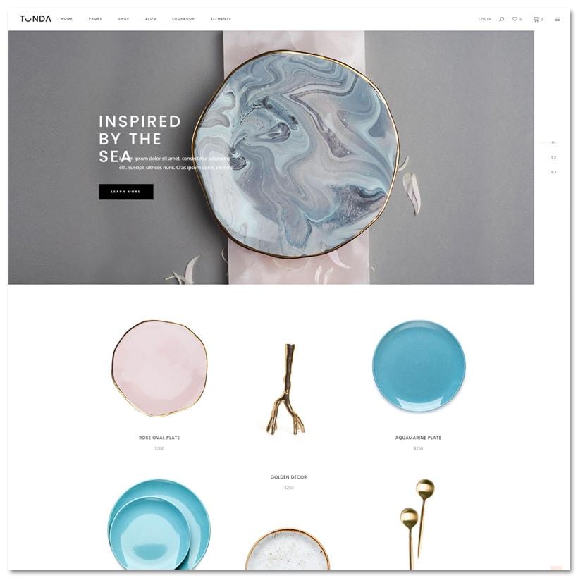 Tonda - Tema WordPress Elegante para Loja Virtual