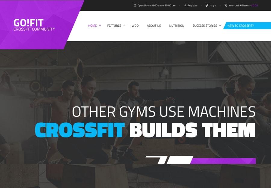 GoFit! | Ginástica, Acadêmia e CrossFit