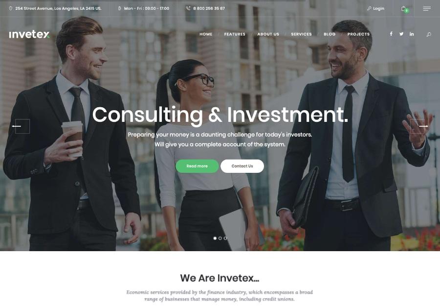 Invetex - Consultoria de Negócios e Investimentos