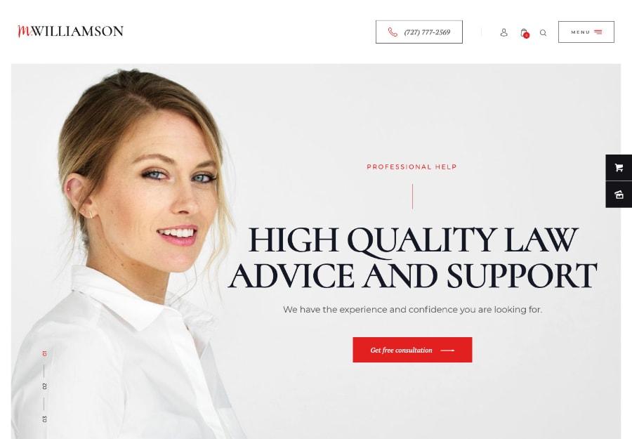 M.Williamson - Firmas de Advocacia e Conselheiros