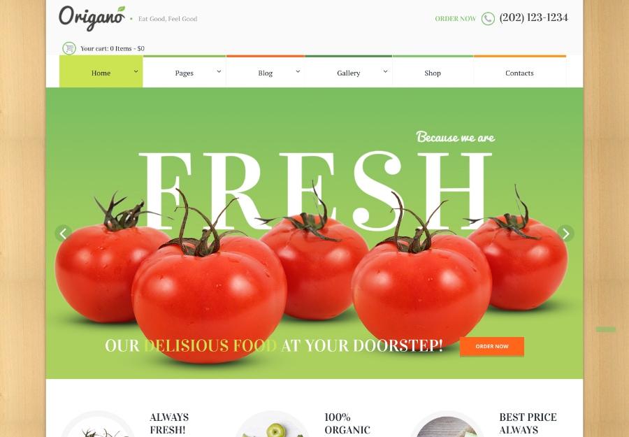 Origano - Comida Orgânica e Fazenda Ecológica
