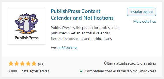 PublishPress Instalando e Ativando Plugin