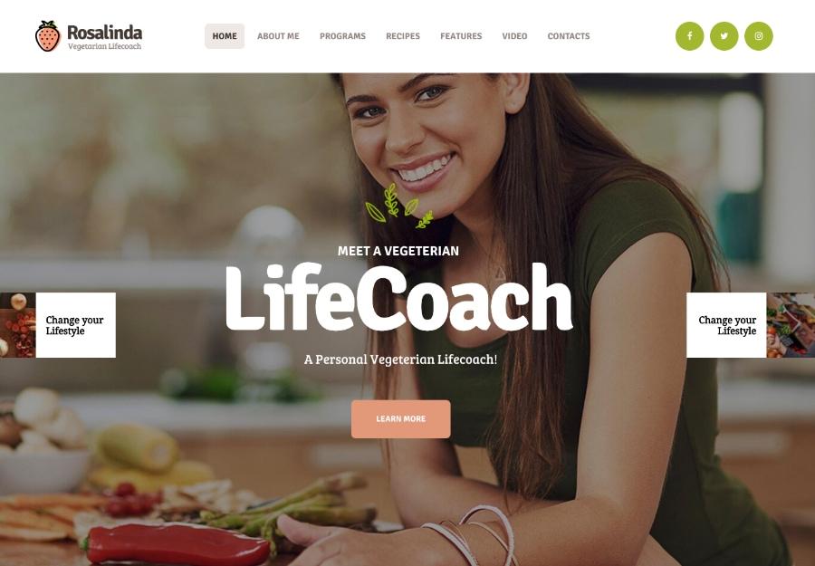 Rosalinda - Coach de Saúde e Blog Estilo de Vida Vegetariano
