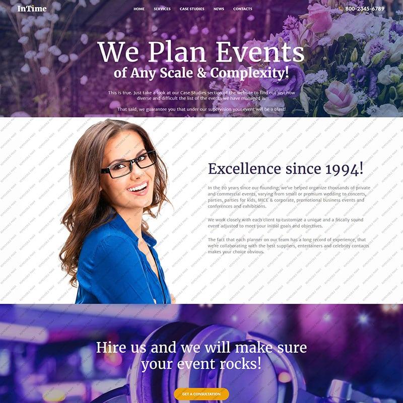 InTime - Empresa de Gerenciamento de Eventos