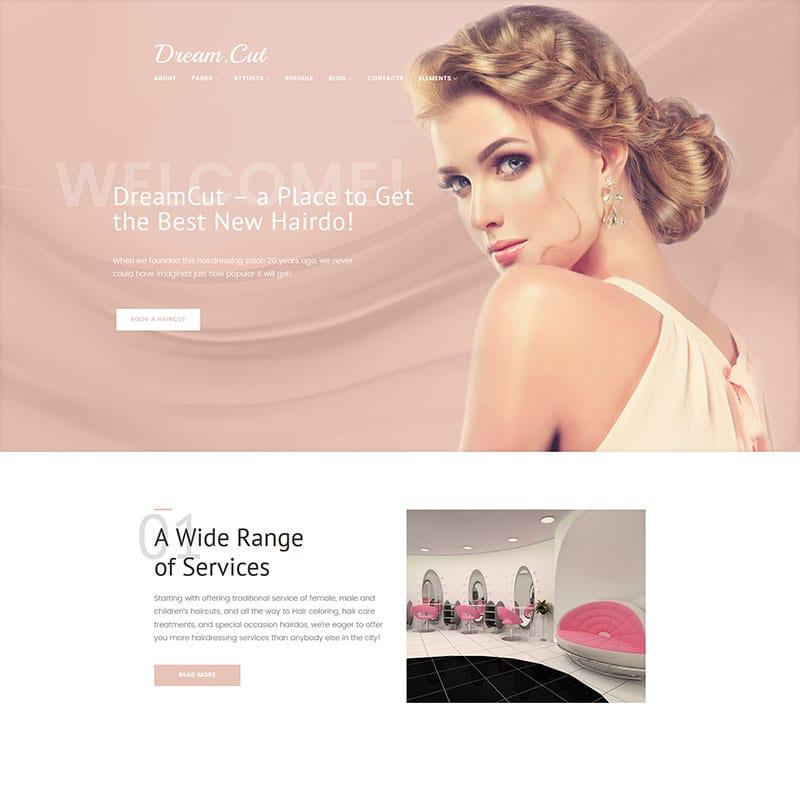 DreamCut - Salão de Beleza e Cabeleireiro