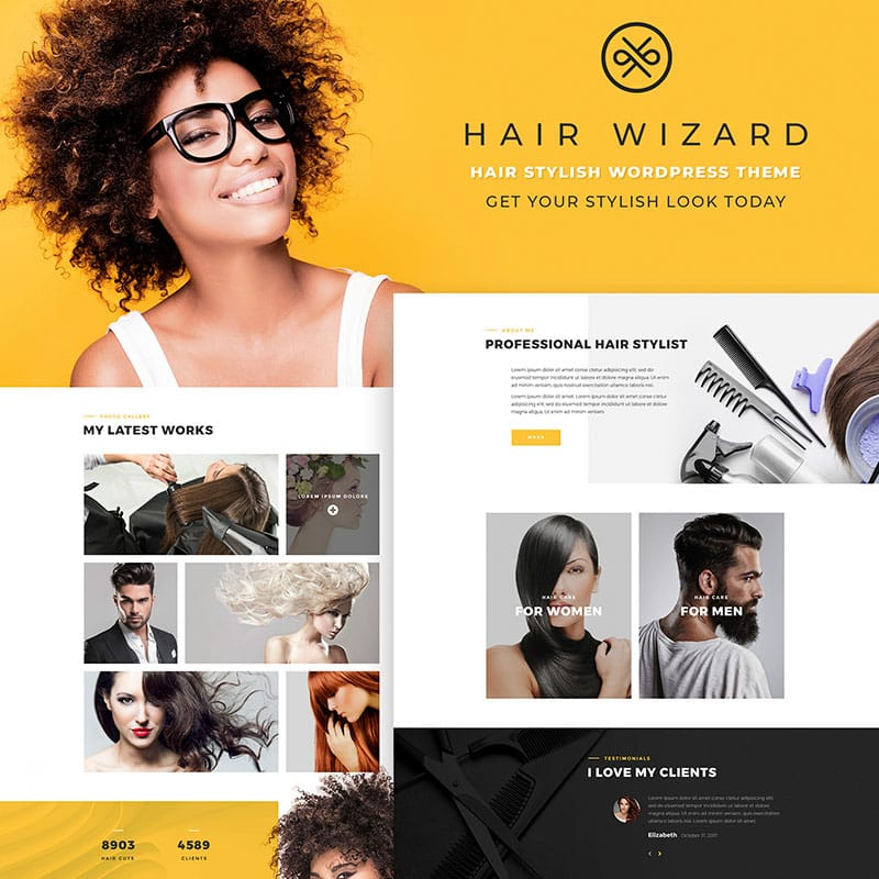 Hair Stylist - Cabeleireiro e Barbearia