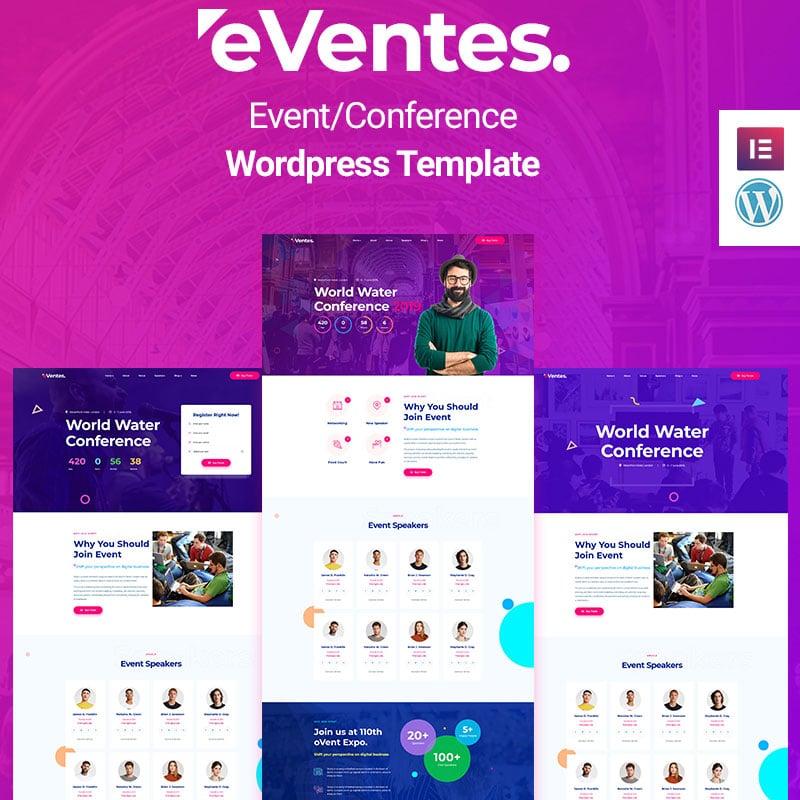 Eventes - Eventos e Conferência