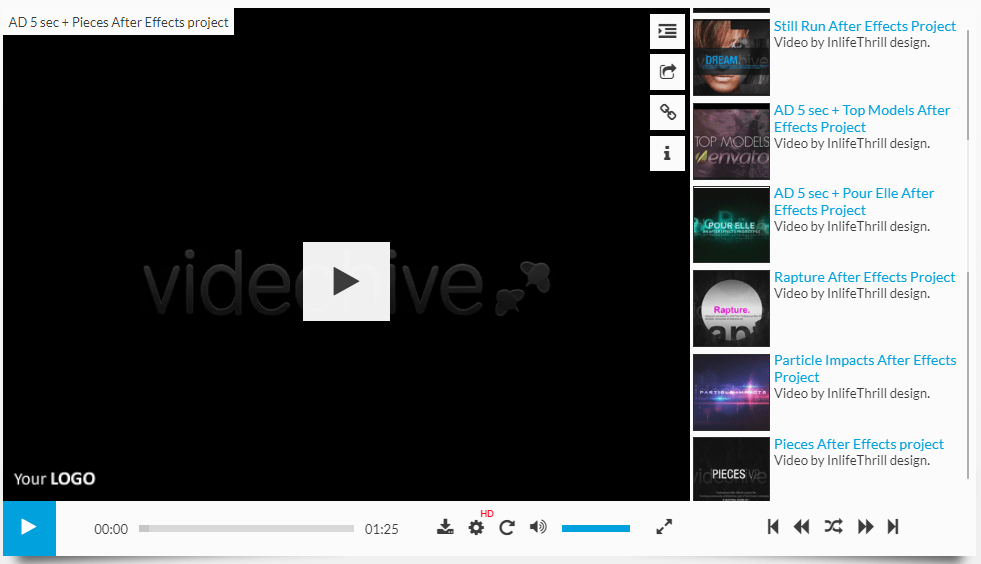 Video Player WordPress - Elite Video Player - Detalhes