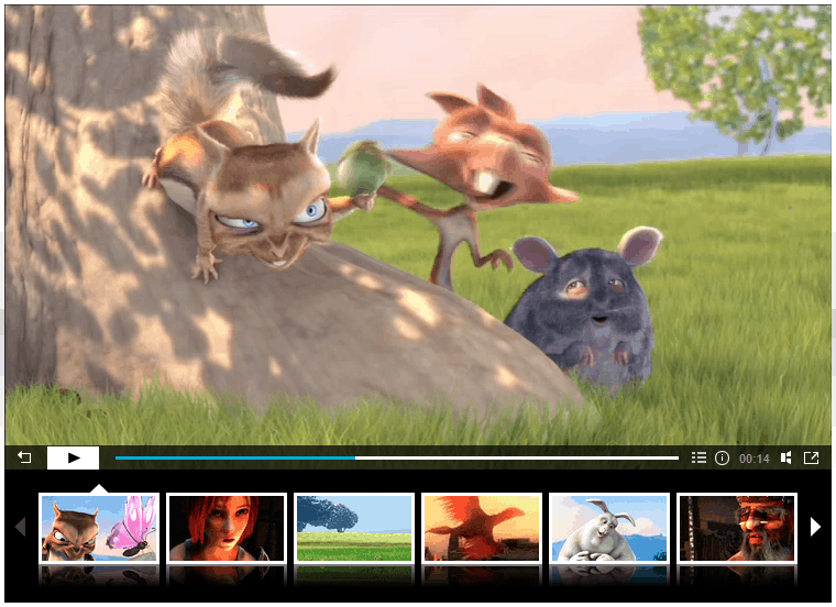 Video Player WordPress - HTML5 Video Player - Detalhe