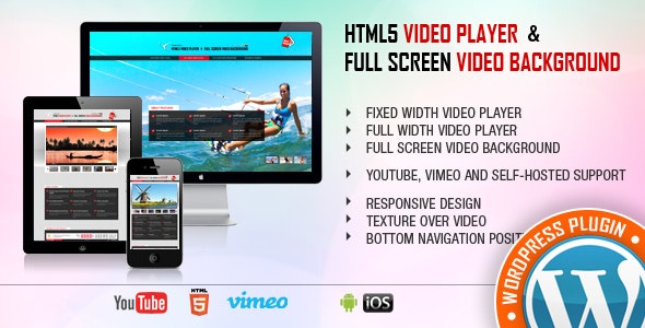 Video Player WordPress - Video Player Fullscreen Video