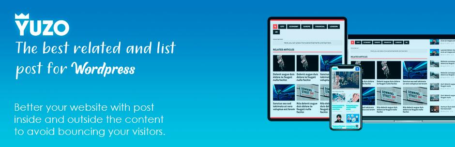 Yuzo - Melhor Plugins Posts Relacionados WordPress em 2020 - Canal WP