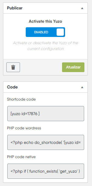 Yuzo Posts Relacionados - Shortcode - Codigos Shortcode